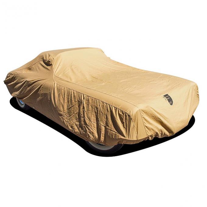 Corvette Car Cover, Premium Flannel, Tan, 1953-1962