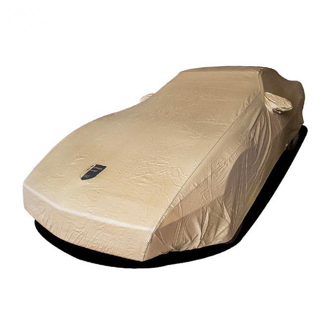 Corvette Car Cover, Premium Flannel, Tan, 1984-1990