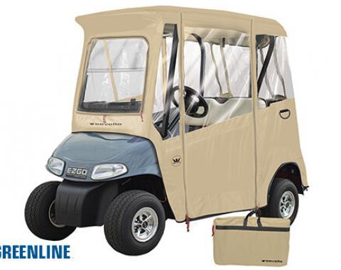 Greenline 2 Passenger E-Z-GO Golf Cart Enclosure