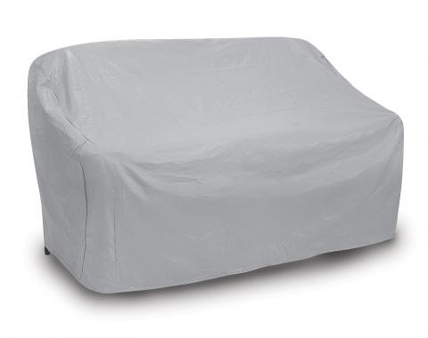 PCI Dura-Gard Three Seat Wicker Sofa Cover, Gray, 84W x 35D x 35H in., 1127