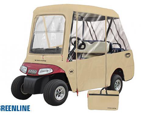 Greenline 2 Over 4 Passenger Universal Golf Cart Enclosure