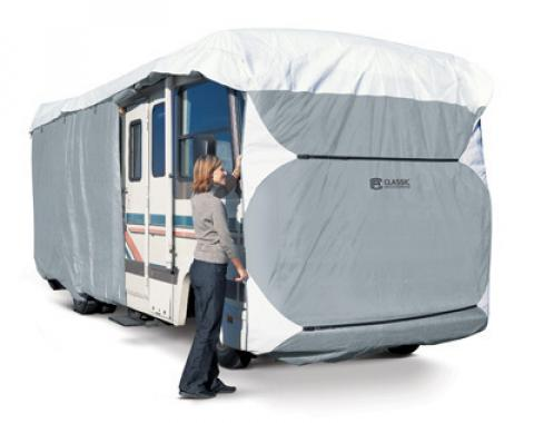 Elite Premium™ Class A RV Cover fits RVs 33' to 37' Extra Tall Up to 140""