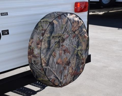 Adco Covers 8758, Spare Tire Cover, Fits 25-1/2 Inch Diameter Tires, Camouflage