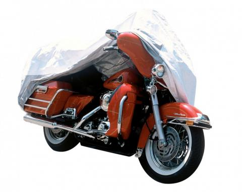 Adco Covers 73014, Motorcycle Cover, Tyvek (R),Fits Touring Cruisers; Extra Large, Non-Abrasive Fabric, Aluminized Heat Shield, All Weather Protection, Breathable/ UV And Water Resistant, Vented