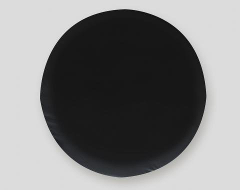 Adco Covers 1736, Spare Tire Cover, Fits 28 Inch Diameter Tires, Plain, Black, Vinyl, With Hollow Bead Welt Cord And Elasticized Back, With UV Protection