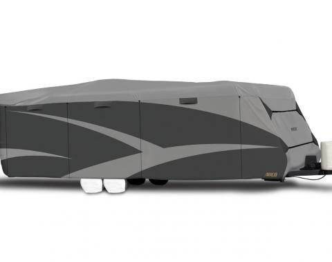 Adco Covers 52243, RV Cover, Designer SFS Aquashed (R), For Travel Trailers, Fits 24 Foot 1 Inch To 26 Foot Length Trailers, 315 Inch Length x 100 Inch Width x 96 Inch Height, Moderate Weather Protection