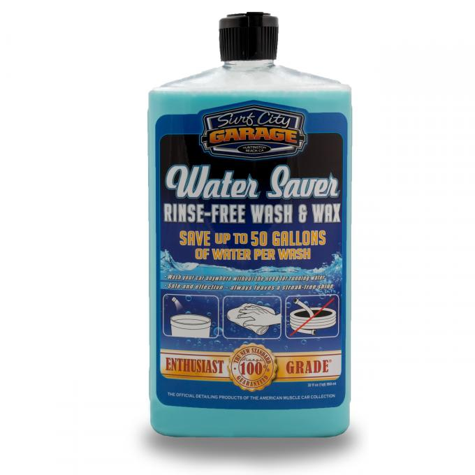 Water Saver Rinse-Free Wash & Wax, Surf City Garage