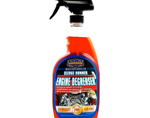Sledge Hammer® Engine Degreaser, Surf City Garage, 24 Ounce