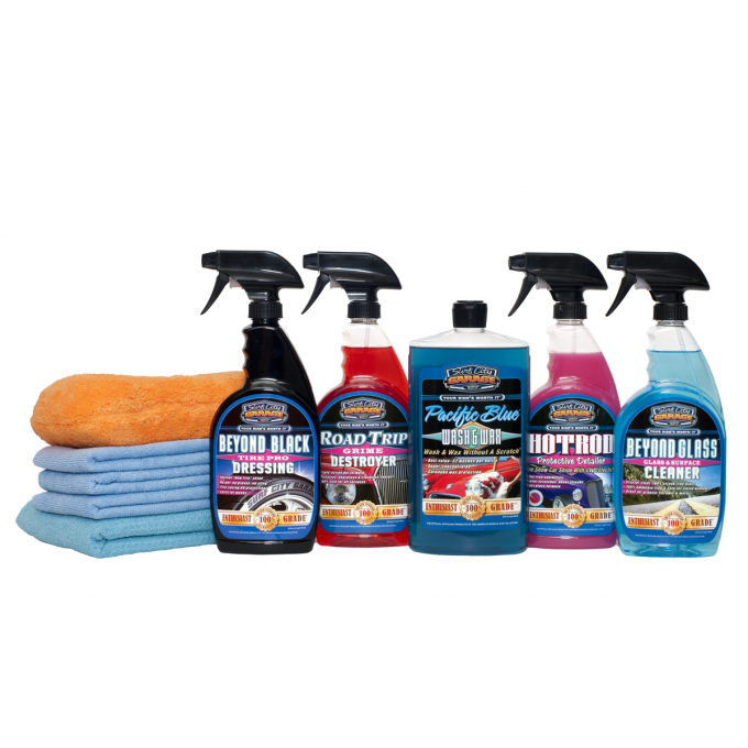 The Weekender Wash & Wax Kit, Surf City Garage