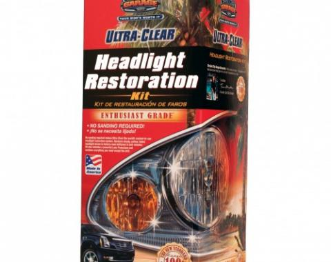 Ultra-Clear® Headlight Restoration Kit, Surf City Garage