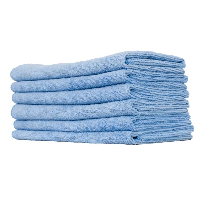 Microfiber Light Blue Utility Towel, Surf City Garage