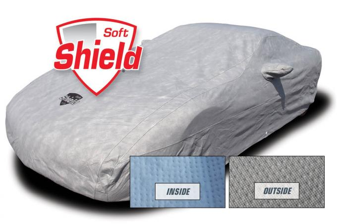 Corvette Car Cover Softshield, with Cable & Lock, 2005-2013