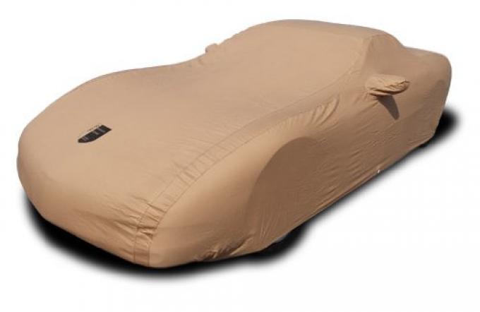 Corvette Car Cover, Premium Flannel, Tan, 2014-2016