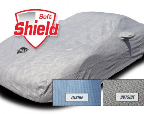 Corvette Car Cover Softshield, with Cable & Lock, Z06/Grand Sport, 2005-2013
