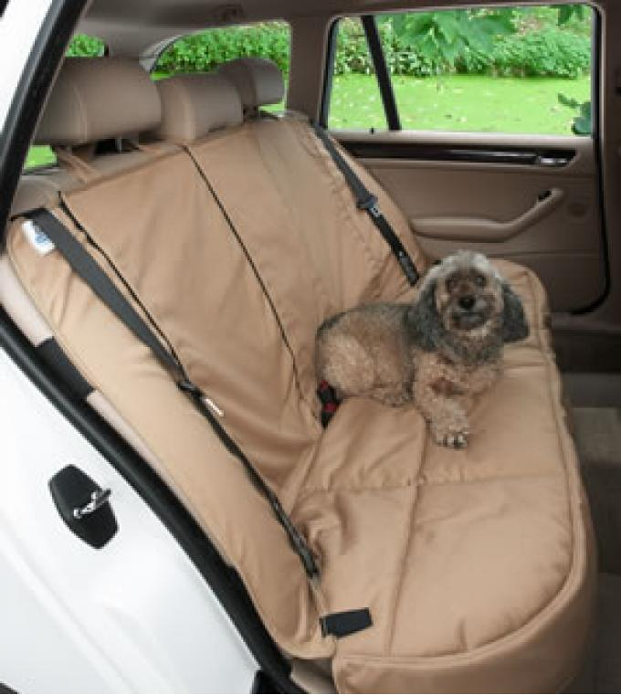 Canine Covers® Custom Rear Seat Protector