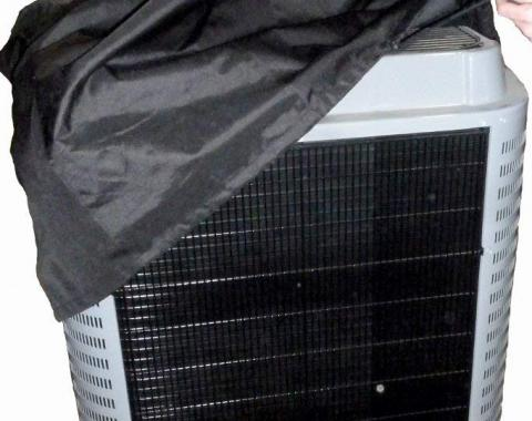 HVAC Source AC Condenser Cover Professional Grade | Large (Fits up to 34x37x48 Inch Condenser)