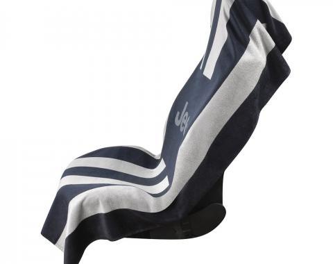 Seat Armour, Universal Towel2Go, Jeep, Black/Grey, T2GO100BGJ