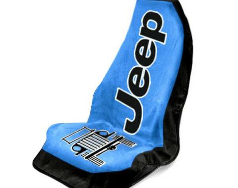 Seat Armour, Universal Towel2Go Jeep, Blue T2G100B