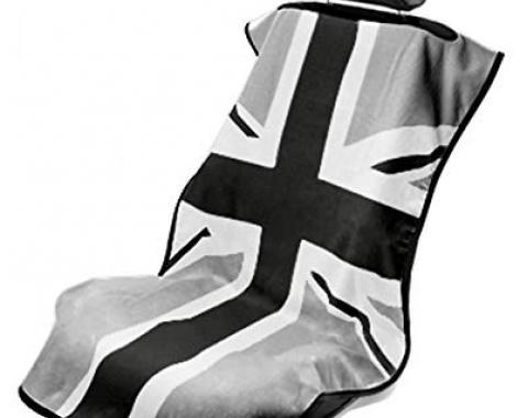 Seat Armour BWG British Flag, Seat Towel, Grey, SA100MINIBG