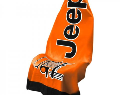 Seat Armour, Universal Towel2Go Jeep, Orange T2G100OR