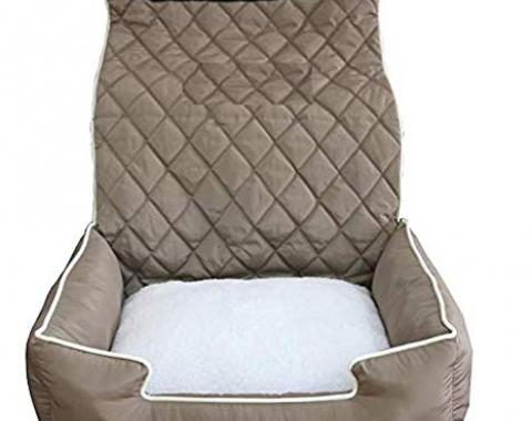 PetBed2Go, Pet Bed Seat Cover, Tan, PET2G100T