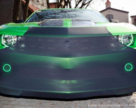 NoviStretch™ 5th Gen Camaro Front Bumper Mask FBM550C
