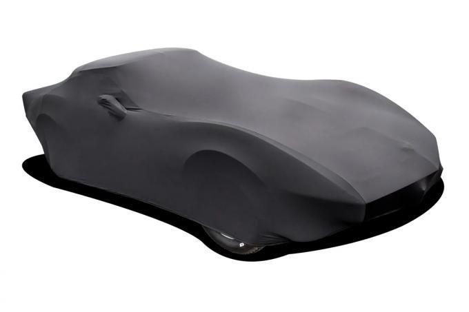 Corvette Car Cover, Onyx Satin Indoor, Black, 1968-1982