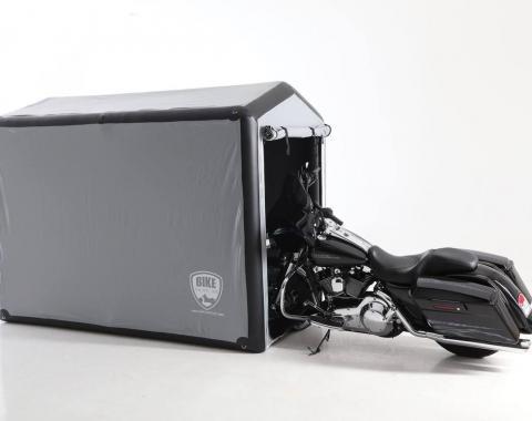 CarCapsule™ Showcase Bike Capsule, Outdoor BBSH09 | Length 9' (108 x 58 x 72 inches /81 At Peak)