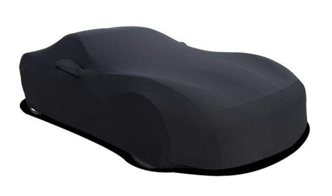 Corvette Car Cover, Onyx Satin Indoor, Black, 1963-1967