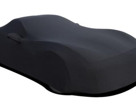 Corvette Car Cover, Onyx Satin Indoor, Black, 2014-2019