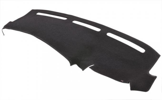 Covercraft 1978-1982 Chevrolet Corvette DashMat Custom Dash Cover, Black 0537-00-25