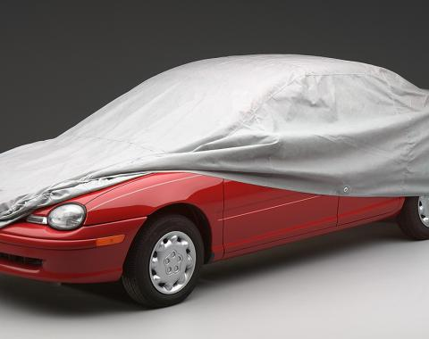 Covercraft Wolf Ready-Fit Car Cover, Multibond Gray C40004WC