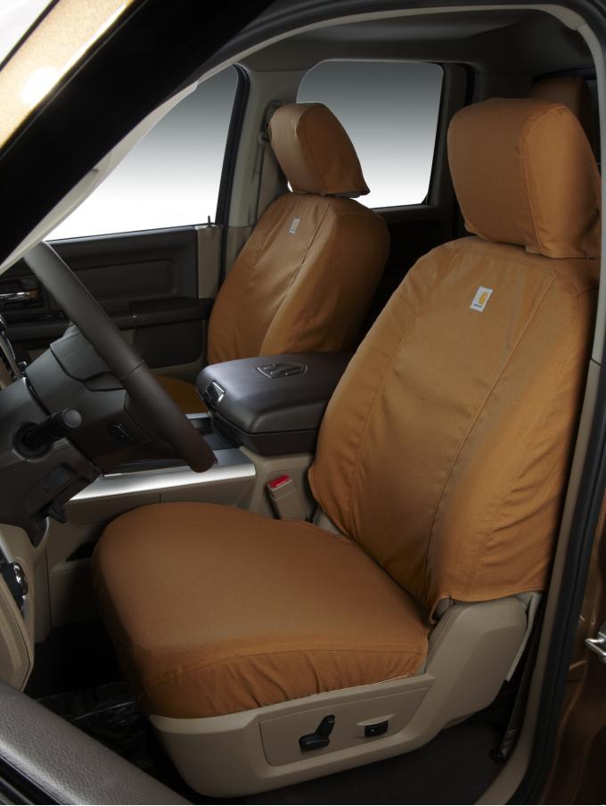Covercraft 2019-2020 Ford F-150 Carhartt SeatSaver Custom Seat Cover, Brown SSC8492CABN