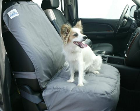 Covercraft Canine Covers Semi-Custom Bucket Seat Protector, Polycotton Taupe DSB1001TP