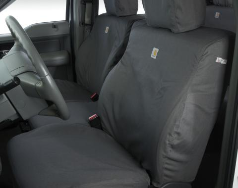 Covercraft Carhartt SeatSaver Custom Seat Cover, Gravel SSC3479CAGY