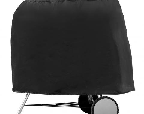 PCI Dura-Gard Post/Kettle Grill, Grill Cover, Black, 30W x 27D x 25H, 1094