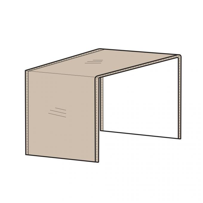 PCI Dura-Gard Outdoor Sectional Cover, Armless Center Piece Tan, 28W X 40D X 32H, 1258-TN