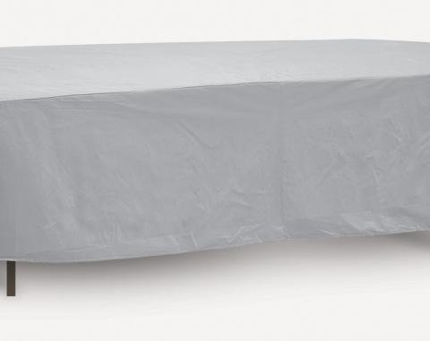 "PCI Dura-Gard Oval/Rectangular Table Cover, Gray, 80""- 84"" Table, 84W x 48D x 20H in., 1155"