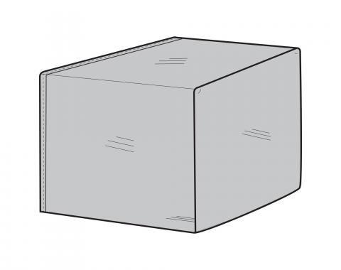 PCI Dura-Gard Outdoor Sectional Cover, End Panel Gray, 40D X 32H, 1264