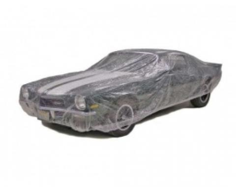 Car Cover, Disposable Clear, Medium, Case of 20