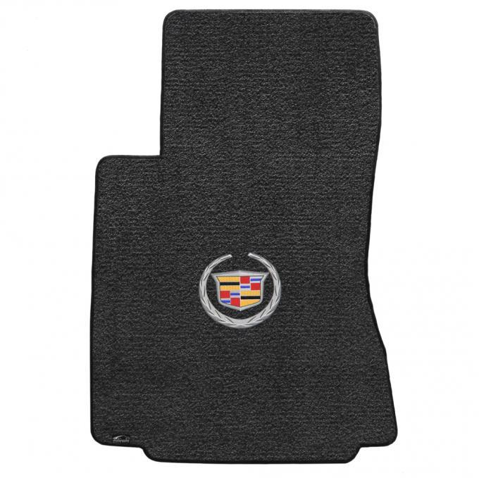 Lloyd Mats 2009-2013 Cadillac CTS CTS-V Sedan/wagon 2009-2013.5 4 Piece Mats Ebony Ultimat Cadillac Logo 600075