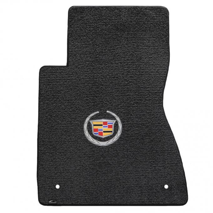 Lloyd Mats 2003-2007 Cadillac CTS Cts/CTS-V 2003-2007 2 Piece Mats Ebony Ultimat Cadillac Logo 600068