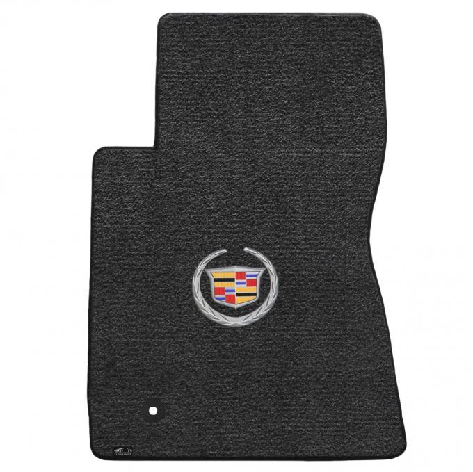 Lloyd Mats 2011-2015 Cadillac CTS Cts AWD Coupe 2011-2015 2 Piece Mats Ebony Ultimat Cadillac Logo 600078