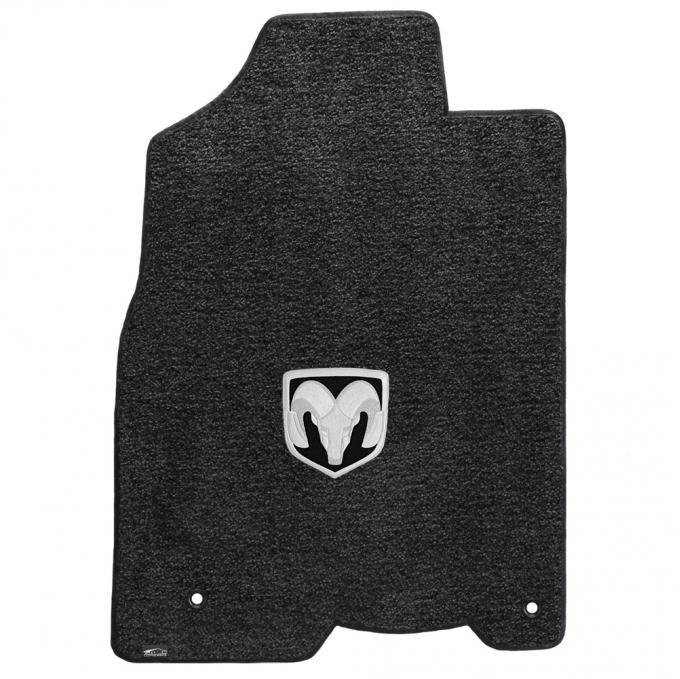 Lloyd Mats 2012-2019 Ram 1500 Ram 1500 Crew Pickup 2012.5-on 2 Piece Front Dark Slate Ultimat Silver Ram Logo 600060