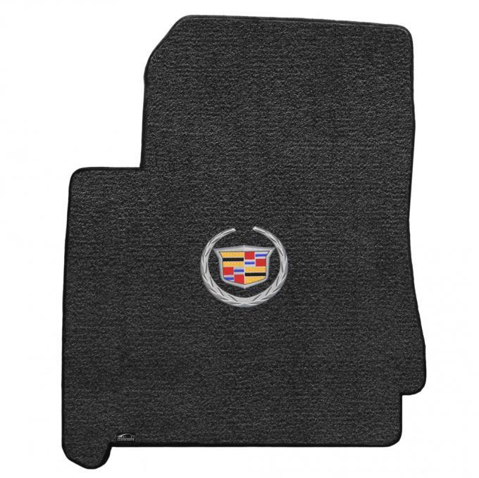 Lloyd Mats 2010-2011 Cadillac SRX Srx 2010-2011 2 Piece Mats Ebony Ultimat Cadillac Logo 600088