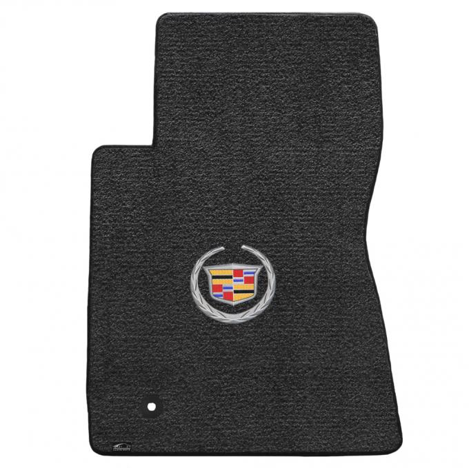 Lloyd Mats 2011-2015 Cadillac CTS CTS-V Coupe 2011-2015 2 Piece Mats Ebony Ultimat Cadillac Logo 600081
