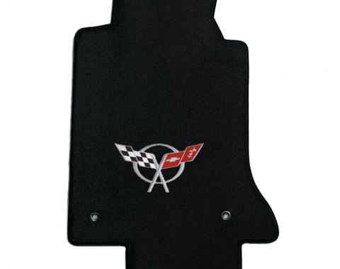 Lloyd Mats 1997-2004 Chevrolet Corvette Corvette 1997-2004 2 Piece Mats Black Ultimat C5 Logo 600016