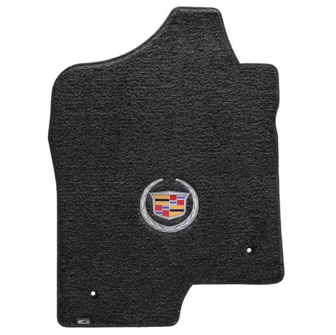 Lloyd Mats 2007-2014 Cadillac Escalade Cadillac Escalade Ext 2007-2014 2 Piece Front Ebony Ultimat Cadillac Logo 600039