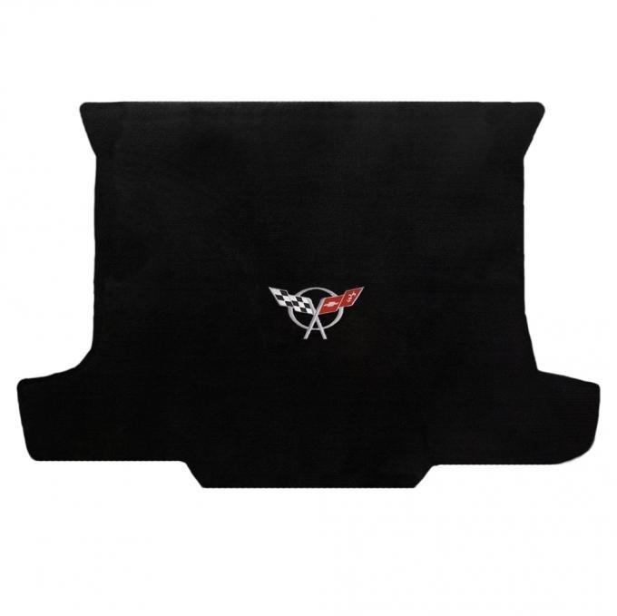 Lloyd Mats 1998-2004 Chevrolet Corvette Corvette 1998-2004 Convertible Cargo Mat Black Velourtex C5 Logo 620018