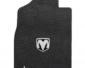 Lloyd Mats 2012-2019 Ram 1500 Ram 1500 Std Pickup 2012.5-on 2 Piece Front Dark Slate Ultimat Silver Ram Logo 600058